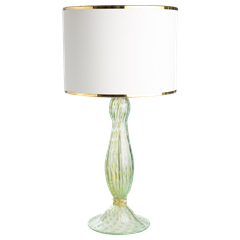Glass Baluster Lamp 24