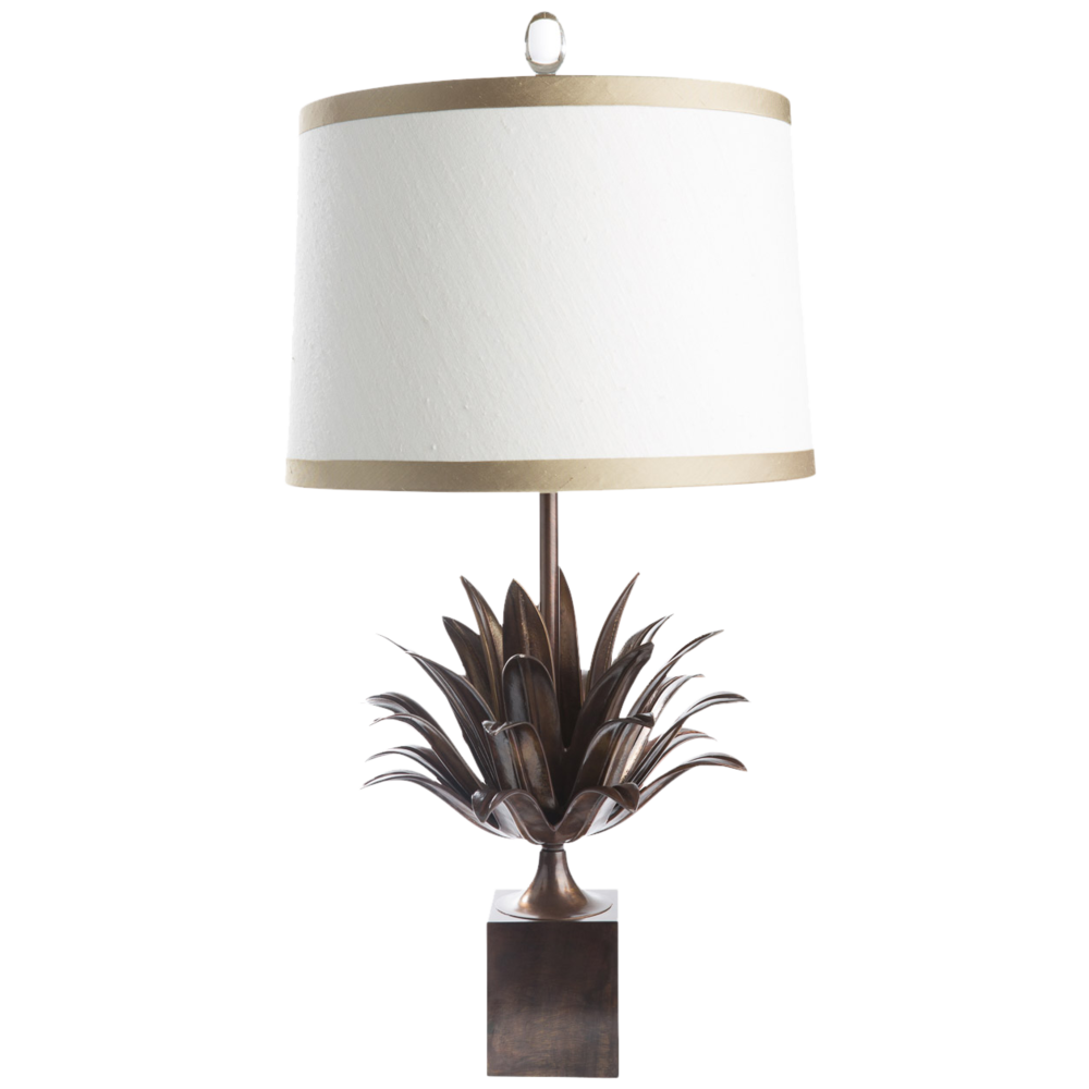 Layered Leaf Lamp Bz
